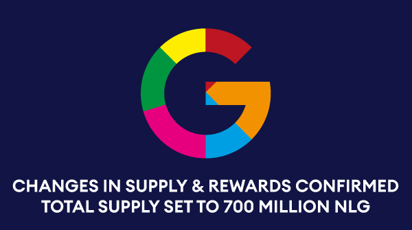Rewards & Supply changes ready and committed. Total supply gets an additional cut to 700 million.